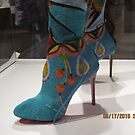 Indian Boot at Portland Art Museum by AuntieBarbie