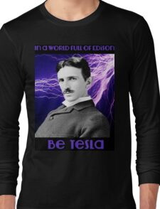 Nikola Tesla two Long Sleeve T-Shirt