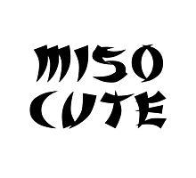 Miso Cute Photographic Print