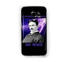 Nikola Tesla two Samsung Galaxy Case/Skin