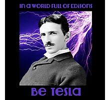 Nikola Tesla two Photographic Print