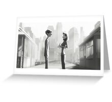 paperman Greeting Card