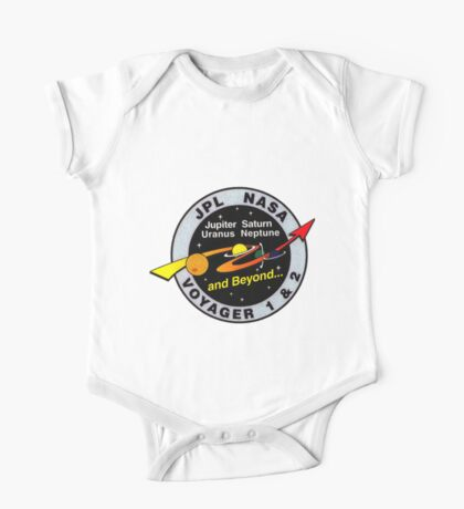 Voyager Extended Mission Logo One Piece - Short Sleeve