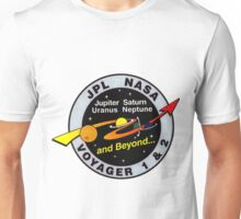 Voyager Extended Mission Logo Unisex T-Shirt