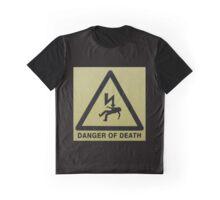 Danger of Death - black Graphic T-Shirt