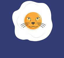 Fried Egg Cat T Shirt Womens Fitted T-Shirt