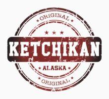 Ketchikan Alaska Stamp by dejava