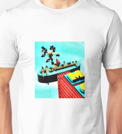 Holiday Motel Lodge Sign Unisex T-Shirt