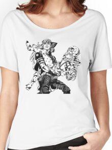 JoJo's Bizarre Adventure: Steel Ball Run - Johnny & Gyro Women's Relaxed Fit T-Shirt