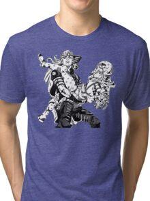JoJo's Bizarre Adventure: Steel Ball Run - Johnny & Gyro Tri-blend T-Shirt