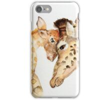 Mama Giraffe Love iPhone Case/Skin
