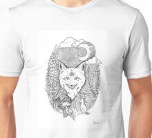 Three-Eyed Woodland Fox Unisex T-Shirt