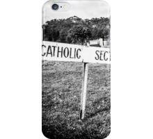 Eildon Cemetary - Catholic Section iPhone Case/Skin