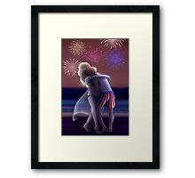 [USUK] Fourth Of July Framed Print