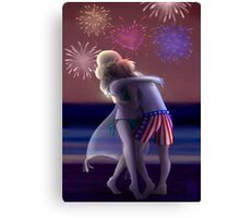 [USUK] Fourth Of July Canvas Print