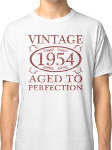 Vintage 1954 Birth Year Classic T-Shirt
