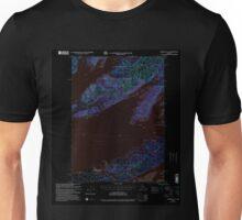 USGS TOPO Map Alaska AK Cordova C-6 355195 2000 63360 Inverted Unisex T-Shirt