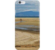 Beach hikers iPhone Case/Skin