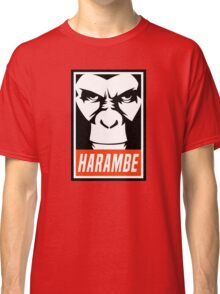 Harambe (OBEY Meme) Gorilla Shirt, Phone Case, Stickers Classic T-Shirt
