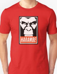 Harambe (OBEY Meme) Gorilla Shirt, Phone Case, Stickers Unisex T-Shirt