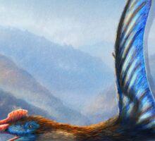 Quetzalcoatlus Northropi Restored Sticker