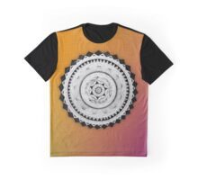 Psychedelic Molecule Graphic T-Shirt