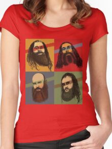 Portrait Of An American Family Women's Fitted Scoop T-Shirt
