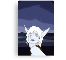Night Elf Canvas Print