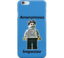 Anonymous Imposter iPhone Case/Skin