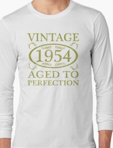 Vintage 1954 Birth Year Long Sleeve T-Shirt