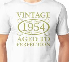 Vintage 1954 Birth Year Unisex T-Shirt
