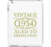 Vintage 1954 Birth Year iPad Case/Skin