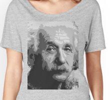 Al - Original Hipster (Albert Einstein, #2 in the Original Hipster Series - Full Face Version) Women's Relaxed Fit T-Shirt