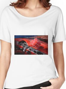 Hot Red Dice Women's Relaxed Fit T-Shirt