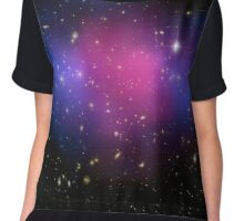 Galaxy Cluster MACS J0025.4-1222 Astronomy Image Chiffon Top