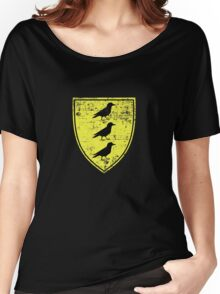 Borch Three Jackdaws Coat of Arms - Witcher Women's Relaxed Fit T-Shirt