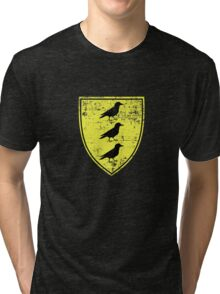 Borch Three Jackdaws Coat of Arms - Witcher Tri-blend T-Shirt