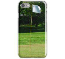 Golf flag iPhone Case/Skin