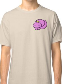 pretty kitty crown print Classic T-Shirt