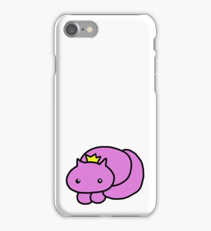 pretty kitty crown print iPhone Case/Skin