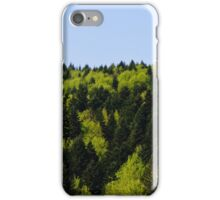 Forest background iPhone Case/Skin