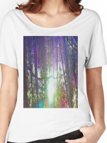 Pixel Trees Women's Relaxed Fit T-Shirt