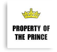 Property Of Prince Metal Print
