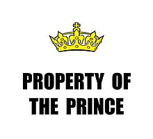 Property Of Prince Photographic Print
