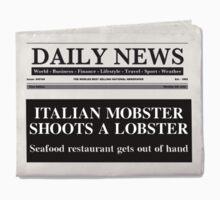 Mobster Lobster Kids Tee