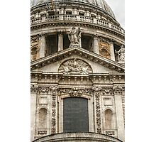 A Closer View of the South Side of Saint Paul's Photographic Print