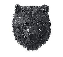 Bear BW Photographic Print