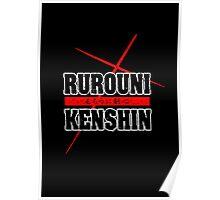 RUROUNI KENSHIN LETTERS Poster