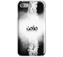 Letters fusion_momenarts iPhone Case/Skin