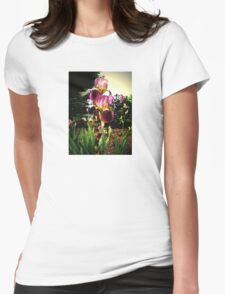 Altered Iris Womens Fitted T-Shirt